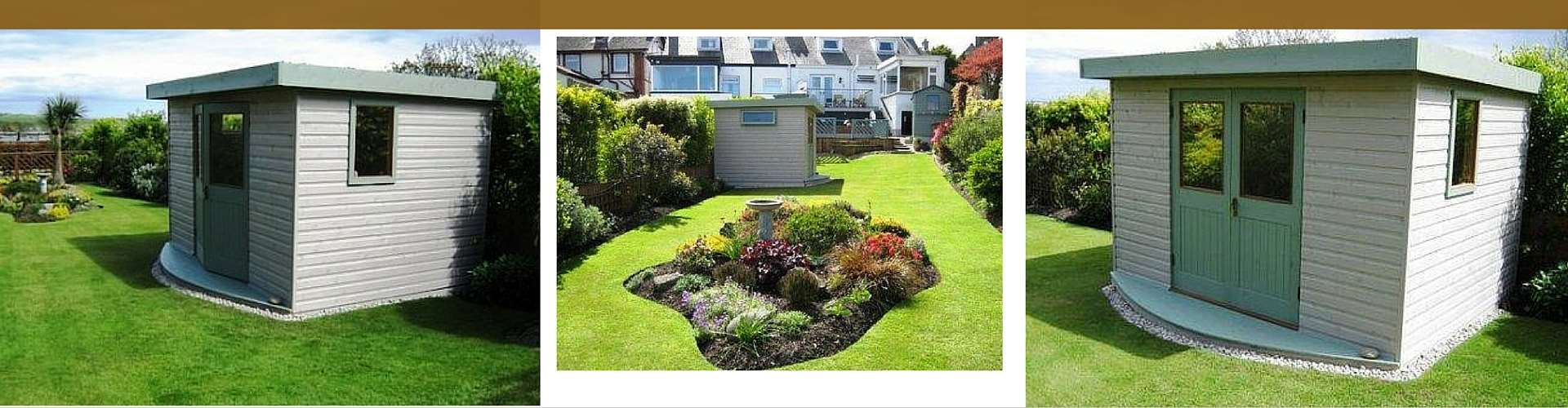 Hand-crafted Garden Pods, Garden Rooms NI