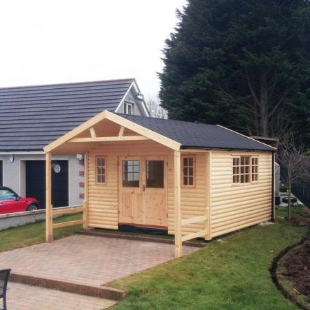 Garden room garden lodge